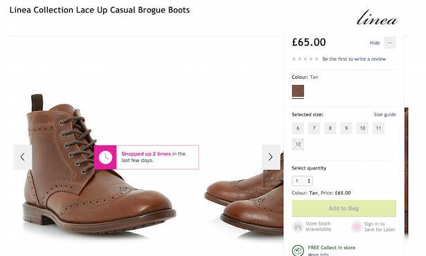 HouseofFraser - повышение конверсии и онлайн-продаж для магазинов одежды и обуви