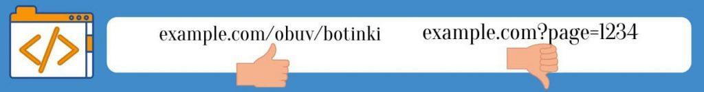 Правильный и неправильный URL для сайта